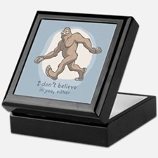 Bigfoot Don't Believe Keepsake Box