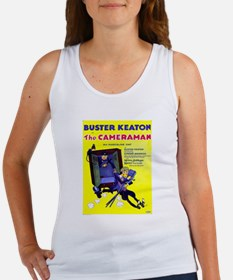 Vintage poster - The Cameraman Tank Top