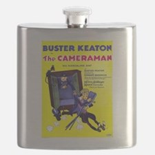 Vintage poster - The Cameraman Flask