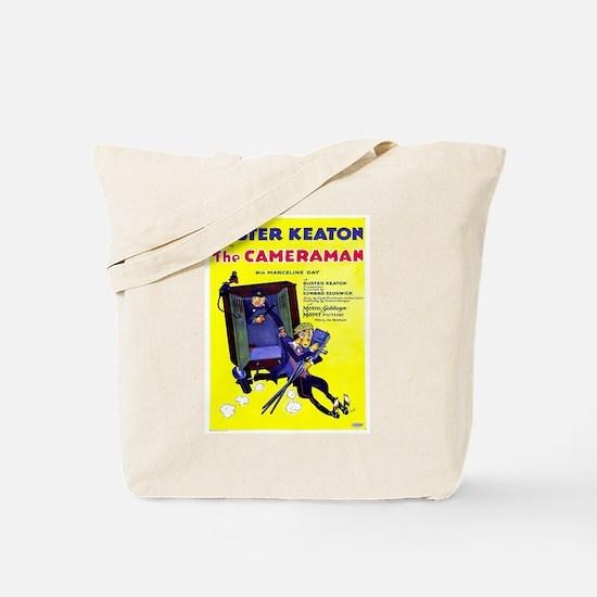 Vintage poster - The Cameraman Tote Bag