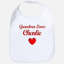 Grandma Loves Charlie Bib