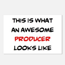 awesome producer Postcards (Package of 8)
