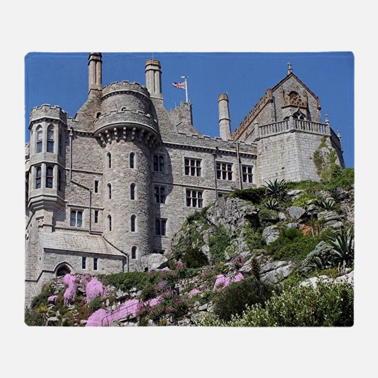 St Michael's Mount Castle, England, Throw Blanket