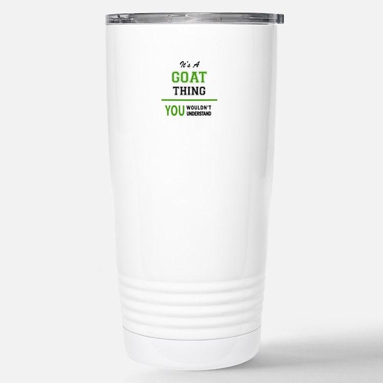 Cute Goat t Travel Mug