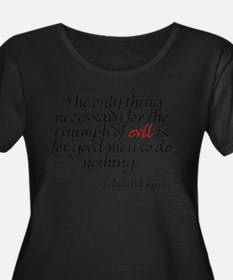 Qoute 1 Plus Size T-Shirt