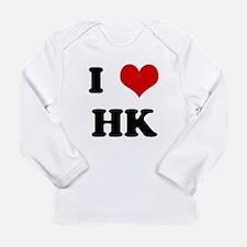I Love HK Long Sleeve T-Shirt
