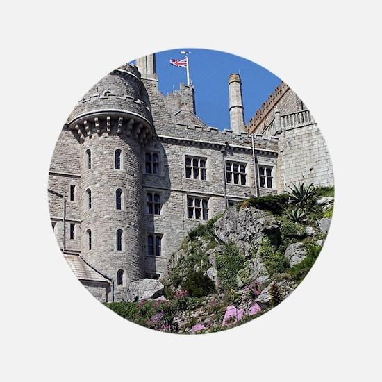 St Michael's Mount Castle, England, United Button