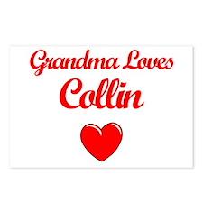 Grandma Loves Collin Postcards (Package of 8)