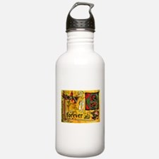 Medieval Love Forever Sports Water Bottle