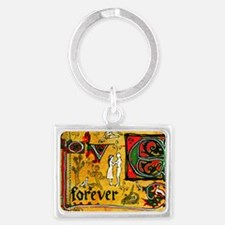Medieval Love Forever Keychains