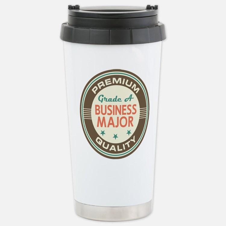 Cute Business student Travel Mug