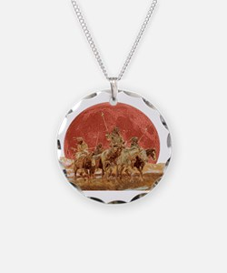 Hunting Party Blood Moon Necklace