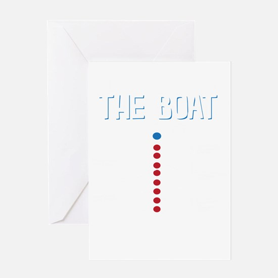 The Real Parts Of The Boat Greeting Cards