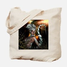 Awesome dark fairy in the night Tote Bag