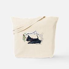Scottish Terrier Birthday Dog Tote Bag