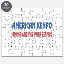 American Kenpo Begins and end with respect Puzzle