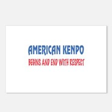 American Kenpo Begins and Postcards (Package of 8)