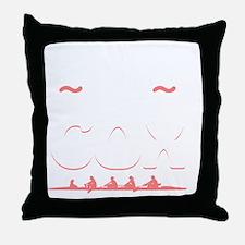 Cute Sculler Throw Pillow