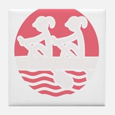 Rowing Girlz Tile Coaster