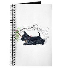 Scottish Terrier Birthday Dog Journal