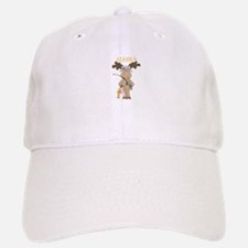 Alaska Moose Going Fishing Baseball Baseball Baseball Cap