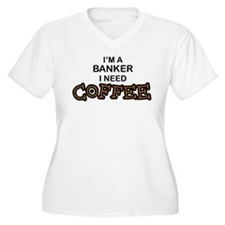 Banker Need Coffee T-Shirt