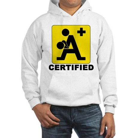 A+ Certified Hooded Sweatshirt