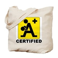 A+ Certified Tote Bag