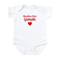 Grandma Loves Gabrielle Infant Bodysuit