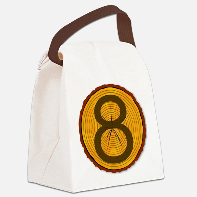 Cute Section Canvas Lunch Bag
