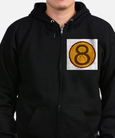 Number Eight Log Sweatshirt