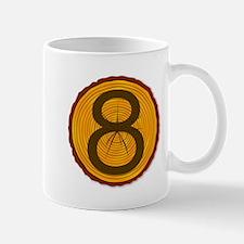 Number Eight Log Mugs