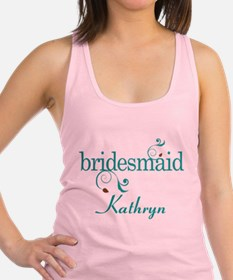 Bridesmaid Wedding Personalized Tank Top