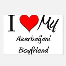 I Love My Azerbaijani Boyfriend Postcards (Package