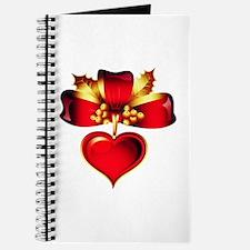 Valentine's Day Heart Journal