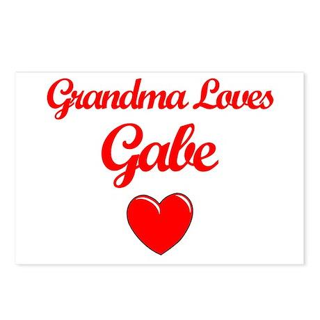 Grandma Loves Gabe Postcards (Package of 8)