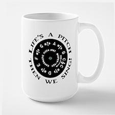 Life's a Pitch Mugs