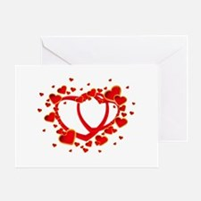 Valentine's Day Heart Greeting Cards