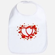 Valentine's Day Heart Baby Bib