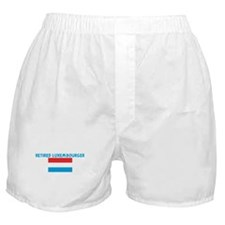 RETIRED LUXEMBOURGER Boxer Shorts