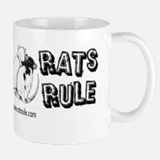 Rats Rule Rat Hug Mugs