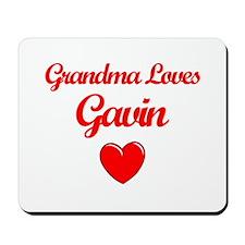 Grandma Loves Gavin Mousepad