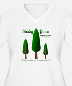 Shady Pines Retirement Village Plus Size T-Shirt