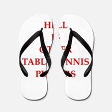 table tennis Flip Flops