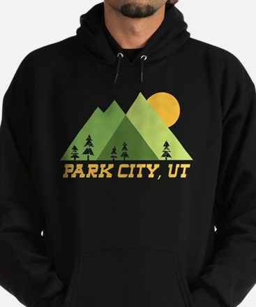 park city utah mountain sun Sweatshirt