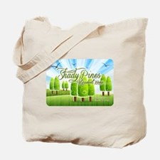Funny White rose Tote Bag