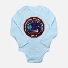 OA-7 Spacecraft Long Sleeve Infant Bodysuit