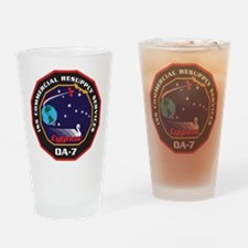OA-7 Spacecraft Drinking Glass