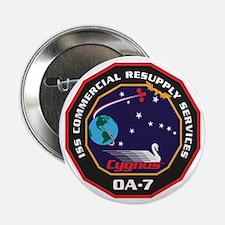 """OA-7 Spacecraft 2.25"""" Button"""