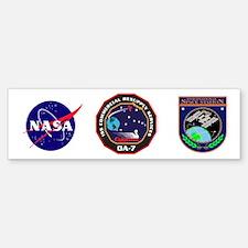 OA-7 Spacecraft Sticker (Bumper)